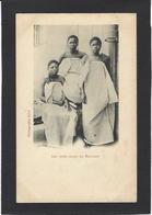 CPA BENIN Afrique Noire Type Ethnic Royalty Les Trois Filles De BEHANZIN  Non Circulé - Benin