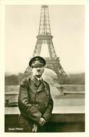 CPA 75  Tour Eiffel UNSER FÜHRER CARTE PHOTO VOIR IMAGES - Tour Eiffel