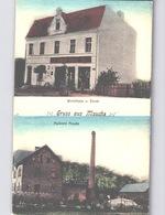 Mochy Mauche In Przemęt In Wolsztyńsk In Woiwodschaft Großpolen Grocery Shop Valentin Durek + Diary Molkerei C.1908 - Polonia