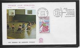 Thème Handisport - Jeux Olympiques - Sports - Enveloppe - Handisport