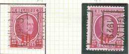 OCVB N° 4815   GILLY 1929    A B - Roulettes 1920-29