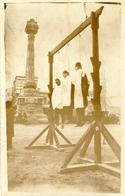 CARTE-PHOTO - DAMAS - Pendaison  1925 / 27   Place Al Merjeh - Syrien