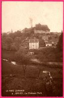 Briey - Le Château Fort - Edit. BARBIER - Oblit. BRIEY 1924 - Briey