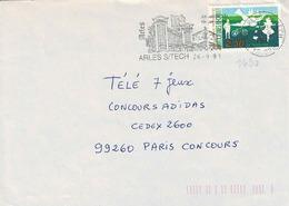 TP N ° 2690 Seul Sur Enveloppe De Arles Sur Tech - Marcophilie (Lettres)