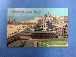 POST CARD CARTOLINA FORMATO PICCOLO ATLANTIC CITY NEW JERSEY - Atlantic City