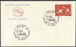 X28     Italia / Italy 2006 Campionati Del Mondo Di Scherma, World Fencing Championships - Scherma