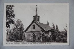 Féternes (Haute-Savoie), Chapelle Du Vieux Château Et Le Tombeau Des Marquis - France