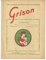 Protège-cahier:  Entretien Chaussure  GRISON - Buvards, Protège-cahiers Illustrés
