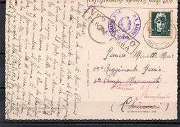 SASENO 21/9/41 COMANDO DISTACCAMENTO REGIA MARINA SASENO - Saseno