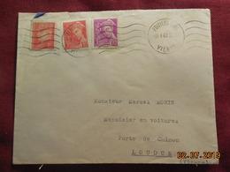 Lettre De 1942 à Destination De Loudin - 1921-1960: Periodo Moderno