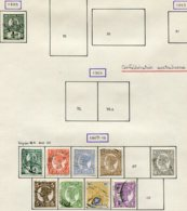 13554 QUEENSLAND Collection Vendue Par Page N° 88, 93/6, 98/102 °  1891-97  B/TB - Timbres