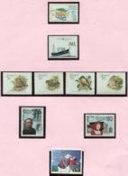 13552 Madère Collection Vendue Par Page N° 69, 123, 125/8, 129/30 295 **/ °  1980-2008  TB/TTB - Madère