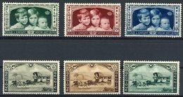 BELGIQUE 1935 N° 404 à 406 Et 407 à 409. ** (MNH). Enfants Royaux Et Exposition Universelle De Bruxelles. TB - Belgien