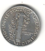 USA 10 Cent 1942 Silver - Emissioni Federali