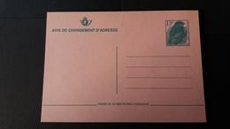"""BUZIN - Carte Autre: Entiers Postaux """" Moineau Domestique"""" 5 Versions - Avis Changement Adresse"""