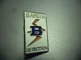 Pin's Electricité BARDIN Détection @ 23 Mm X 13 Mm - EDF GDF