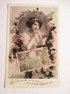 CENT  FRANCS  -  LE NOUVEAU BILLET   ....  JEUNE FEMME ET FLEURS        TTB - Monnaies (représentations)
