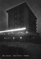 ALBA ADRIATICA-HOTEL RICCIONE-NOTTURNO-REAL PHOTO-VIAGGIATA 1965-F.G - Teramo