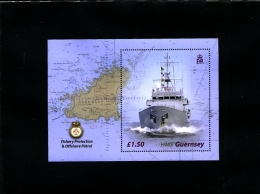 GUERNSEY - 2003 FISHERY  PROTECTION   MS   MINT NH - Guernesey