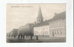 SWEVEZEELE (SWEVEZELE VINGENE) KERK EN MARKTPLAATS 1918 - Wingene