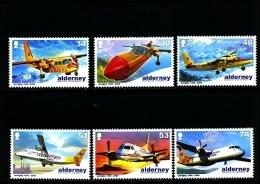 ALDERNEY - 2008  AURIGNY AIR SERVICE  SET MINT NH - Alderney