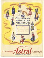 Protège-cahier: Peinture ASTRAL Costumes Des Provinces - Peintures
