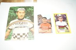 Coureurs Cyclistes, Eddy Merckx, Lot De 3 Photos Anciennes ,cyclisme,collection - Cyclisme