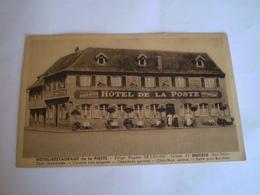 Hôtel De La Poste,Eugène Reymann à Mutzig, Chauffage Central,chambres Garnies; Bières MUTZIG, Animée 3 Personnes - Mutzig