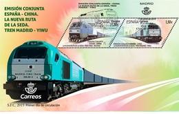 Spain 2019 - Joint Issue Spain - China, The New Silk Road FDC - 1931-Hoy: 2ª República - ... Juan Carlos I