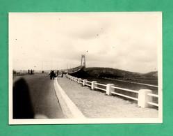 Photographie  Pont De Tancarville Photo Format 8,7cm X 12cm - Lieux