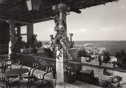 RIVIERA ADRIATICA-PANORAMA DA EDENROCK-REAL PHOTO-VIAGGIATA 1963-F.G - Rimini