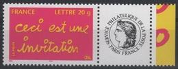 PERS 38 - FRANCE Personnalisés Cérès N° 3760A Ceci Est Une Invitation - France