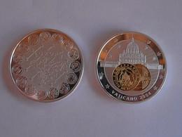 96Lb  Grande Médaille Monnaie Jeton Vaticano 2004 état FDC - San Marino