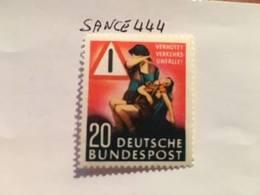 Germany Traffic Safety 1953 Mnh - [7] Federal Republic