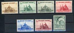 BELGIQUE 1938. N° 471 à 477 ** (MNH) Surtaxe Au Profit De La Basilique De Koekelberg. Cote 45€. Voir Description. - Belgien