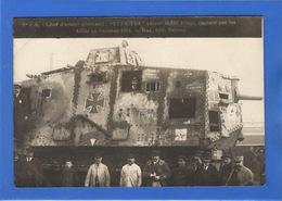 MILITARIA - Carte Photo D'un Char D'assaut Allemand Capturé Par Les Alliés (voir Descriptif) - Matériel