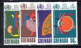 BIG - GRENADA 1968  , Yvert  N. 278/281  ***  MNH (2380A)  OMS - Grenada (...-1974)