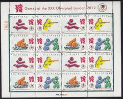 Olympics 2012 - Shooting - PILIPINAS - Sheet MNH - Summer 2012: London