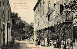 Cp Escouloubre Aude, L'Hôtel De Roquelaure, Straßenpartie - Altri Comuni