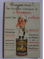 Carte Publicitaire - VAISON La ROMAINE - Maison Mondon Truffes - Advertising
