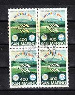 San Marino   -  1985. Tiro A Volo. Skeet Shooting. Beautiful Block Of 4 - Tiro (armi)