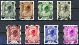 BELGIQUE 1937. N° 458 à 465 ** (MNH). Effigie De La Princesse Joséphine Charlotte. Voir Description. - Belgien