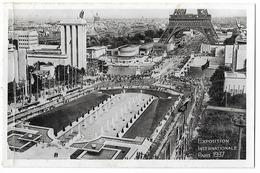 Exposition Paris 1937  - Vue Des Pavillons All. Et Russe - Ausstellungen