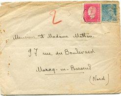 FRANCE LETTRE DEPART (CAMBRAI) 20-?-1945 NORD POUR LA FRANCE - 1944-45 Maríanne De Dulac