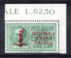 APR331 - RSI REPUBBLICA SOCIALE , Espressi Il N. 21 ***  MNH  . Bella Varietà (Genova?) - 4. 1944-45 Repubblica Sociale