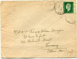 FRANCE LETTRE DEPART ?  23-6-45 NORD POUR LA FRANCE - 1944-45 Maríanne De Dulac
