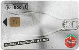Spain - Telefonica - Coca Cola Bottles #2 - P-299 - 11.1997, 10.000ex, Used - España