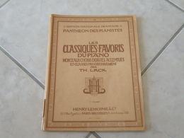 Les Classiques Favoris Du Piano -(Voir Les Photos Table Des 40 Titres )- Livre De Partition 106 Pages - Instruments à Clavier