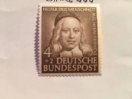 Germany Welfare A. H. Francke Clergyman 1953 Mnh - [7] Federal Republic