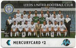 UK (Paytelco) - Football Clubs - Leeds United Team Photo - 4PFLC, 5.499ex, Used - United Kingdom